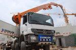 中聯重科80-7RZ碳纖維臂架泵車