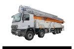 中联重科ZLJ5440THBB 67X-6RZ泵车