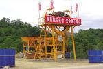 银锚建机HLS180混凝土搅拌站