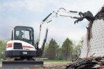 山貓E55小型挖掘機