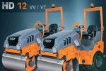 悍马HD12VV小型双钢轮压路机