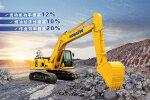 小松PC215-10M0履帶挖掘機