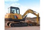 雷沃FR60E履带挖掘机