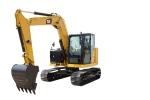 卡特彼勒新一代308.5迷你型挖掘机