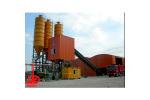 中国现代HZN(S)90E快装式混凝土搅拌站