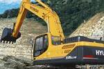 现代R335LC-9T履带挖掘机