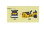 酒井TW352单钢轮压路机