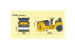 酒井TW502单钢轮压路机