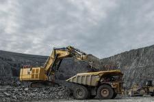 卡特彼勒6050/6050 FS矿用液压挖掘机 整机视图12285