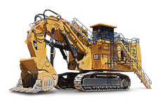 卡特彼勒6060/6060 FS矿用液压挖掘机 整机视图12292