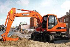 斗山DH150W-7轮式挖掘机整机视图13269