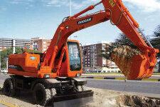 斗山DH150W-7轮式挖掘机整机视图13271
