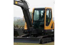 沃尔沃EC55B Pro挖掘机整机视图全部图片