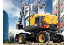 沃尔沃EW60C轮式挖掘机整机视图14145