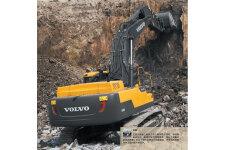 沃尔沃EC480D履带挖掘机整机视图全部图片