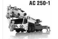 特雷克斯AC 250-1路面起重机
