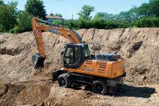 WX95轮式挖掘机
