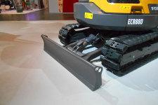 沃尔沃ECR88D履带挖掘机局部细节全部图片