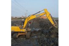 徐工XE135B履带挖掘机施工现场全部图片