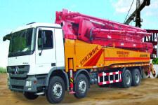 北方重工BZ5161THBS90车载双动力混凝土泵车