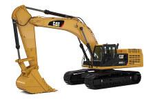 卡特彼勒349D2/D2L大型矿用挖掘机整机视图全部图片