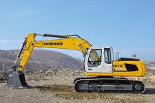 利勃海尔R 906 Litronic履带挖掘机施工现场全部图片