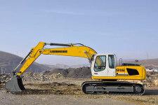 利勃海尔R 916 Litronic履带挖掘机施工现场全部图片