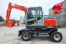 SD65W-8轮式挖掘机
