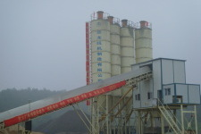 HZS75水泥混凝土搅拌站
