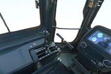 山推SD13R环卫型推土机局部细节全部图片