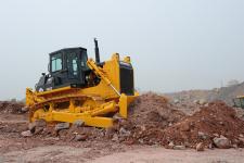山推SD22标准型推土机施工现场全部图片