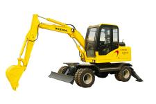 DLS865-9A轮式液压挖掘机