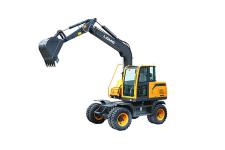 WE80轮式液压挖掘机