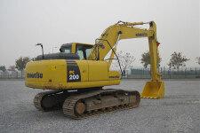 小松PC200-8履带挖掘机整机视图全部图片