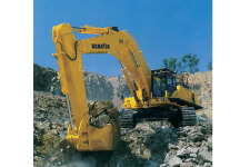 小松PC850-8履带挖掘机施工现场全部图片