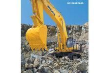 小松PC1250-7-履带挖掘机施工现场全部图片