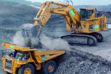 小松PC4000-6履帶挖掘機施工現場31728