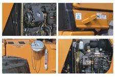 凯斯580N挖掘装载机局部细节32023