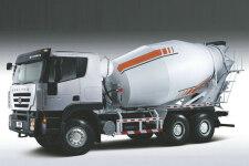 杰狮C100 430马力 8X4 混凝土搅拌车(CQ5315GJBHXG336)(长轴)