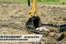 卡特彼勒305.5E2小型挖掘机施工现场35860