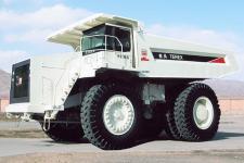 北方重工TR100岩斗型矿用自卸车