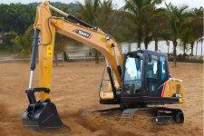 三一SY115C-10履带挖掘机施工现场全部图片