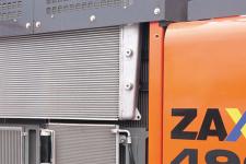 日立ZX490LCH-5A履带挖掘机局部细节全部图片