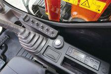 日立ZX70-5A履带挖掘机局部细节37156