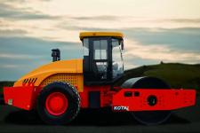 科泰KS225H-2单钢轮压路机(单驱)整机视图全部图片