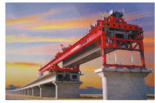 新大方DF450型架桥机