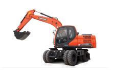 斗山DX150W-9C輪式挖掘機整機視圖38578