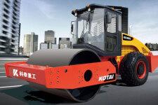 科泰KS105S单钢轮压路机(单驱)整机视图全部图片