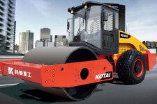科泰KS105D单钢轮压路机(双驱)整机视图全部图片