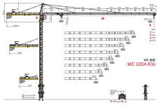 MC 320A K16塔式起重机